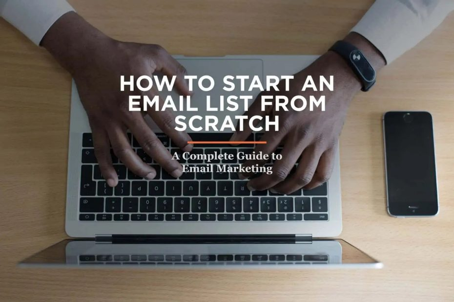 How to Start an Email List From Scratch header image